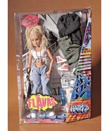 """12"""" Flavas Happy D Street Graffiti Rapper Jointed Doll-2003, Mattel# C19... - $29.99"""