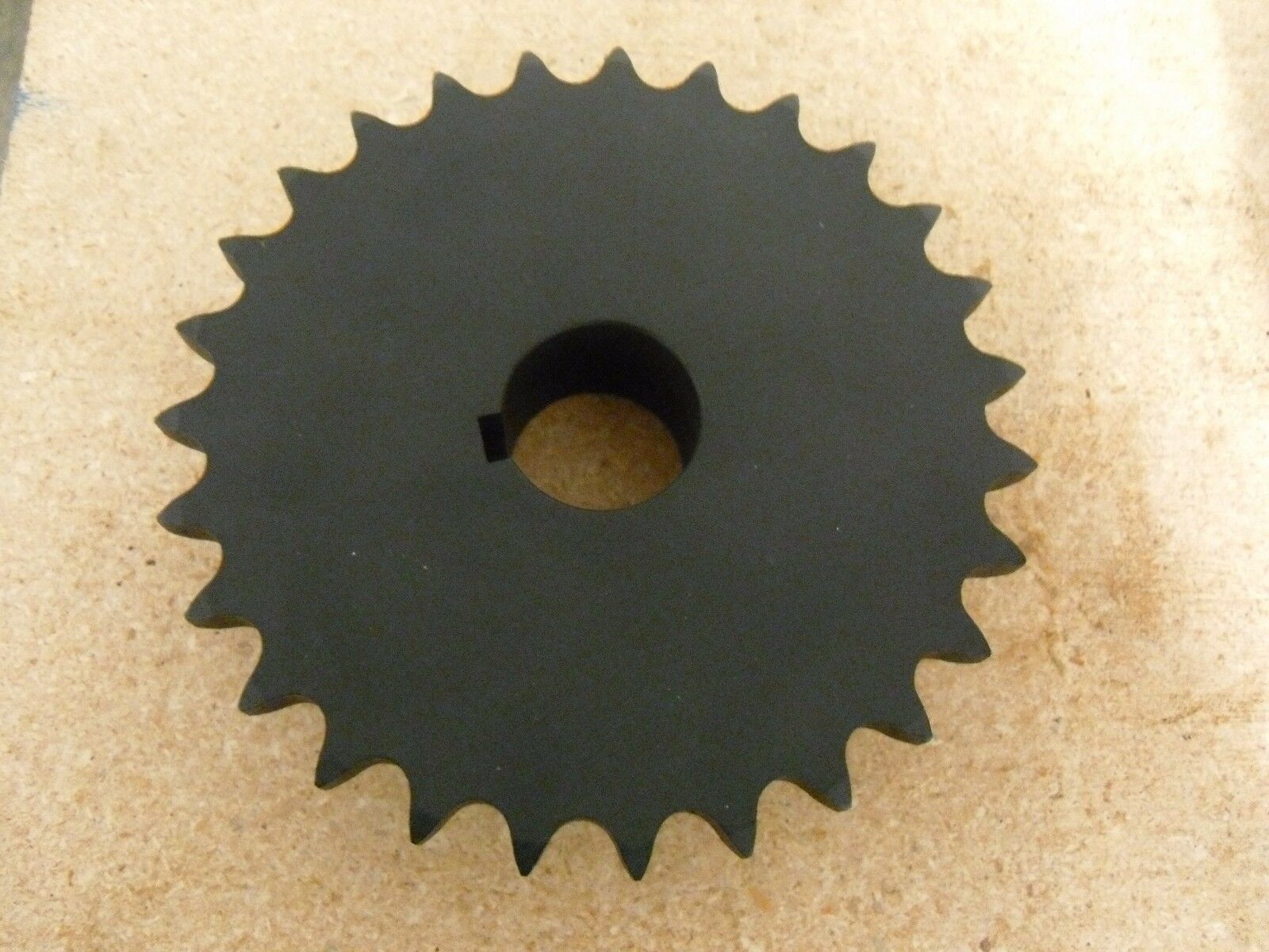 "Primary image for H60B27F ROLLER CHAIN SPROCKET 27 TEETH 1-1/2"" BORE, 6-3/4"" OD"