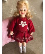 """Vintage Ideal Mary Hartline Doll 1950's 7.5 """" Plastic Majorette Doll in ... - $29.99"""