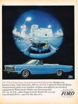 Vintage 1965 Magazine Ad Ford XL Long Clean Sweep Of Steel And Adventure - $5.93