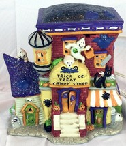 Halloween Villiage House Trick or Treat Candy S... - $29.02