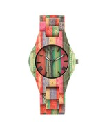Classic Wooden Bamboo Wristwatch Handmade Bamboo Watch Women Men Casual ... - £31.47 GBP