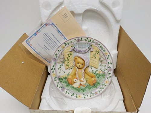 Cherished Teddies Springtime Happiness Plate 203009 - $17.99