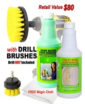 Bio-Clean Products: Hard Water Spot Remover and Toilet Bowl Cleaner - $27.26
