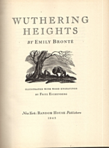 Wuthering Heights By Emily Bronte (copyright 1945) - $5.70