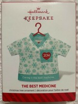 The Best Medicine 2014 Hallmark Ornament Heart Love Doctor Nurse Healthc... - $8.53