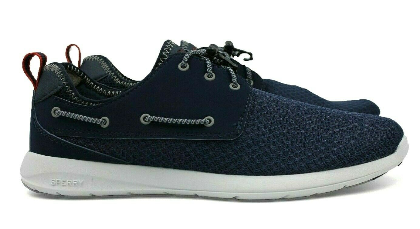 SPERRY Top-Sider Sojourn Plain Toe Men's Casual Shoe - Navy - Size 8 - NEW