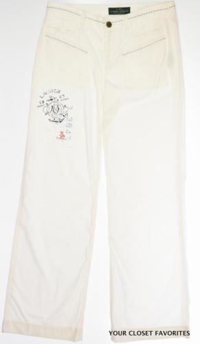 2bf752ad RALPH LAUREN Women's White Chino Pants size and 50 similar items. 12