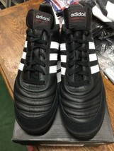 Adidas Mundial Team Turf Soccer Shoes New in Box Black White Size 9 - $99.00