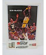 1983-84 BASF Lakers Promo Basketball card  BOB McADOO  5x7 - $4.45
