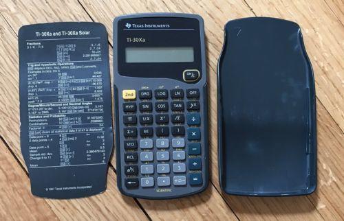 Texas Instruments Ti 30xa Scientific And 50 Similar Items