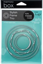 Memory Box Dies-Stylish Frame Trio - $20.92