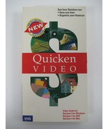 INTUIT Quicken Video Guide for Windows DOS and Mac Video Cassette (1993) - $8.40
