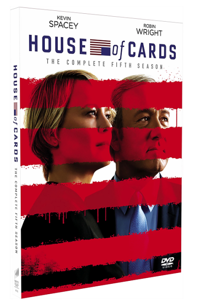 New House Of Cards The Complete Fifth Season 5 DVD Box Set 4 Disc Free Shipping