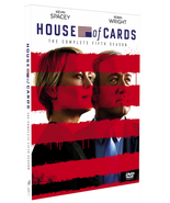 New House Of Cards The Complete Fifth Season 5 DVD Box Set 4 Disc Free S... - $28.68