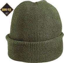 Olive Drab Military Wool GORE-TEX Knitted Winter Hat Watch Cap - $19.99