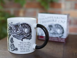 ALICE IN WONDERLAND Mug Heat Activated Transforming Disappearing Cheshire Cat  image 4
