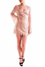 Free People Decolade Mini Dress Long Sleeve Almond Combo Size S RRP £148... - $136.25