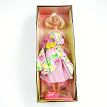 Spring Petals Barbie Doll 2nd in Series Special Edition 1996 Mattel Avon Vintage - $14.83