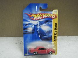 HOT WHEELS- '69 DODGE CORONET  RED SUPER BEE- 2008- NEW ON CARD- L47 - $4.40