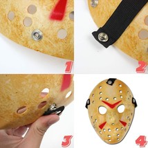 Edealing Jason Voorhees Freddy Hockey Festival Cosplay Halloween Masquer... - £11.49 GBP+