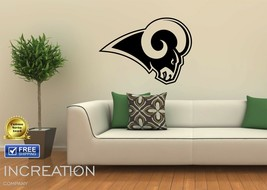 Los Angeles Rams Wall Decal Home Decor Vinyl Sticker mural graphics foot... - $25.23