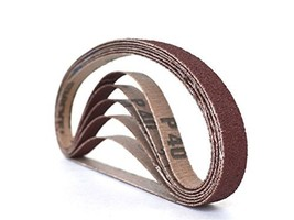 1/2 Inch X 24 Inch Aluminum Oxide Cloth Sanding Air File Belts(48 Pack, ... - $62.49