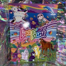 NEW Wonderful World Of Lisa Frank Pocket Folder Excellent Condition 90s Vintage image 1