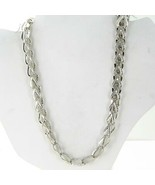 John Hardy Asli Classic Chain Link Necklace 10mm Sterling 925 NB90121X18... - $1,236.75