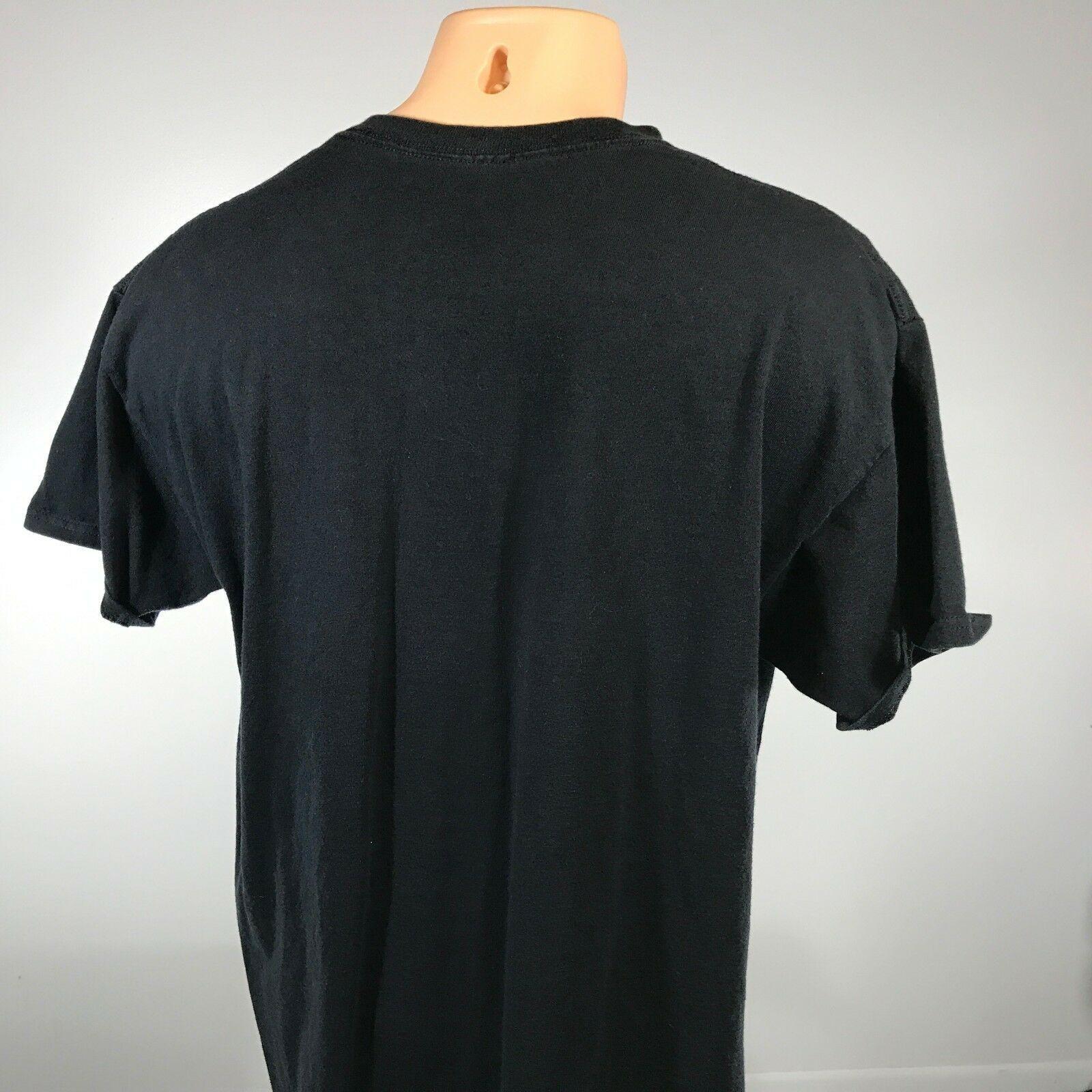Atari L T Shirt Size Large Black Short Old School Player Gaming