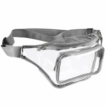 Clear Fanny Pack for Women - Waterproof Transparent Waist Pack for Men - $16.62+