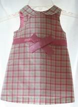 Baby Gap Adorable Plaid Silk Dress Infant 6-12 months Multi-Color, Sleev... - $8.90