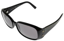 Fendi Sunglasses Women FS389 001 Black Rectangular Fashion Designer  - $177.21