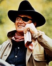 John Wayne 16x20 Canvas Giclee iconic swigging from whisky bottle True Grit - $69.99