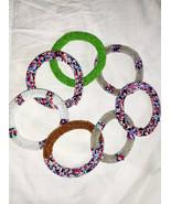 Wholesale Bulk Roll On Bracelets Handmade  Glass Seed Beads Roll on Brac... - $55.50