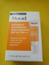Murad Essentual-C Day Moisture Broad Spectrum SPF 30 10 ml Travel Size - $8.71