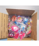 Mixed Lot of 63 Happy Meal Toys Barbie, Zoobles... - $46.74