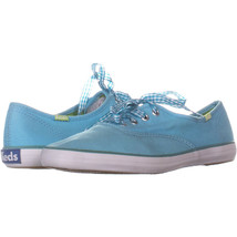 Keds 9813 Lace Up Fashion Sneakers 913, Turqouise, 6 US - $39.52 CAD