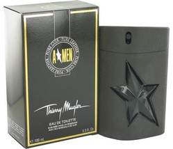 Thierry Mugler Angel Men Pure Leather Cologne 3.3 Oz Eau De Toilette Spray  image 4