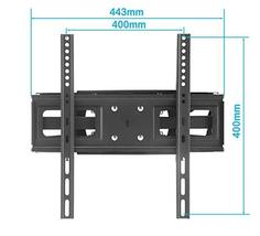 TV Wall Mount Bracket with Full Motion Articulating Dual Arm Swivel Tilt fit 23  image 4