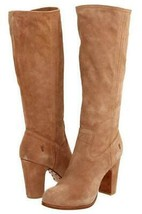 New in Box - $428 FRYE Mirabelle Slouch Taupe Suede Leather Boots Size 11 - $179.99