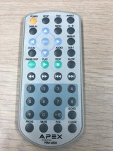 Apex Digital PRM-650S DVD Player Remote Control  Tested And Cleaned           H2