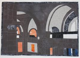 Museum Arches ~ Art Quilt - $1,500.00