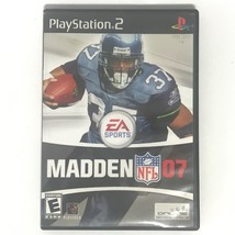 Madden NFL 07 (Sony PlayStation 2, 2006) EA Sports Video Game EUC - $4.88