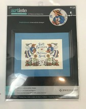 Counted Cross Stitch Let Heaven and Nature Sing Zweigart Artiste Inspirational - $14.84