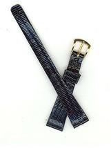Hadley-Roma LS837 11mm Black Long Java Lizard Watch Band SHIPSFREE - $20.92