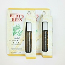 2X Burt's Bees Herbal Complexion Stick with Tea Tree Oil 0.26oz each - $14.95