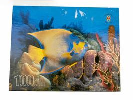 Merrigold Press AngelFish 100 Piece Puzzle Sea Aquarium Angel Fish - $12.47