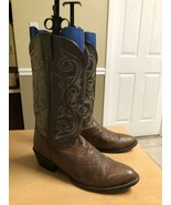 NOCONA Mens Boots Western Style Leather Brown Size 12 D - $45.47