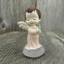 Vintage Mary's Angels Rosebud Ornament 1990 Hallmark Keepsake Christmas ... - $46.99